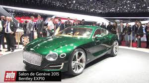 bentley concept car 2015 bentley exp 10 speed 6 concept salon de genève 2015