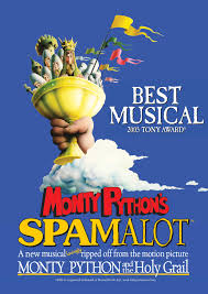 brand new tour of eric idle u0027s spamalot opening in blackpool
