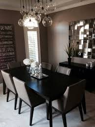 Glass Orb Chandelier Modern Dinning Room Table And Chairs West Elm Chandelier And
