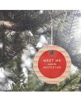 bargains on pewter mistletoe ornament