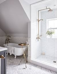 bathroom ideas white charcoal grey and white bathroom traditional with pedestal sink