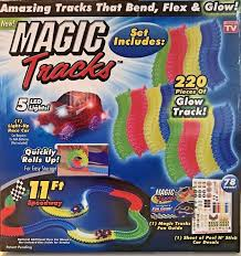 as seen on tv light up track magic tracks as seen on tv glow in the dark track 38 pieces with