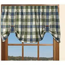 Overstock Kitchen Curtains by Lover U0027s Knot Valance Bestwindowtreatments Com Curtains Black