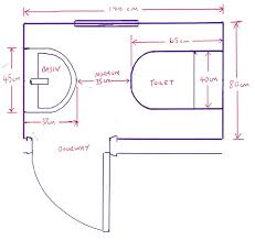 Bathroom Size Requirements Minimum Size For A Downstairs Toilet With Bathroom Installation In