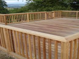 cedar deck railing kits u2014 all furniture the beauty cedar deck