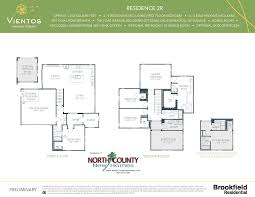 vientos at rancho tesoro new home floor plans north county new homes