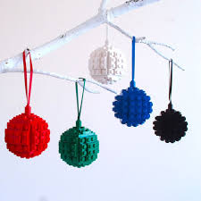 lego bauble ornaments 16 holidays legos ornament