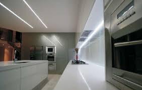 Under Kitchen Cabinet Lighting Led Led Strip Light Examples And Ideas Under Cabinet And Counter