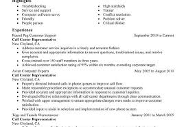 Call Center Resumes Customer Service Representative Resumes Call Center Customer
