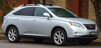 lexus atomic silver rx 350 file 2009 2010 lexus rx 350 ggl15r sports luxury wagon 01 jpg