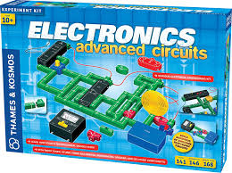amazon com thames and kosmos electronics advanced circuit kit