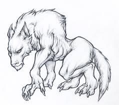werewolf by childofdune transfur