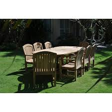 Milano Patio Furniture by Garden Table Set Milano Rectangular Table U0026 Zaire Chairs