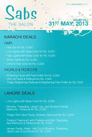 haircut deals lahore sabs salon in lahore