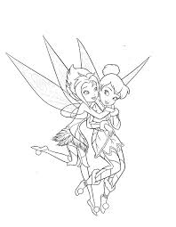tinkerbell periwinkle fairy coloring pages tattoos