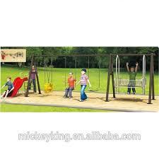 Kids Outdoor Entertainment - unique outdoor children entertainment park double swings for kids