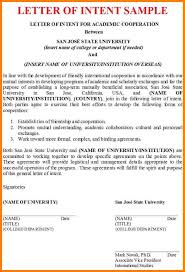 6 letter of intent example letter format for
