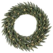 pre lit wreath 48 pre lit christmas camdon fir artificial wreath clear led