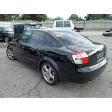audi 1 8 l turbo 2004 audi a4 parts car black with black interior 1 8l turbo
