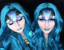 Halloween Makeup Application by Mermaid Halloween Makeup W Tutorial By Katiealves On Deviantart