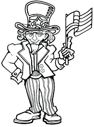 amusing of uncle 4th of july coloring pages pdf 4th of july