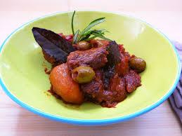 cuisine cor馥nne recettes veau à la corse aux olives