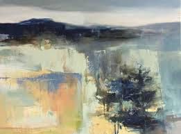 Contemporary Landscape Painting by Daily Painters Abstract Gallery Contemporary Abstract Landscape