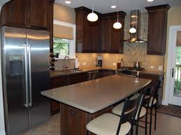 kitchen wall colors with dark cabinets colors with cherry