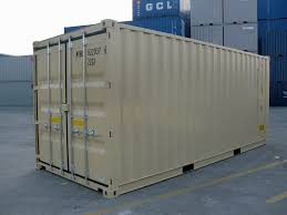 20 u0027 double door ral 1001 shipping containers