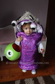 Baby Monster Halloween Costumes by Infant Boo Costume From Monsters Inc Awesome Costume Ideas
