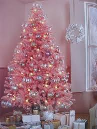 pink christmas tree christmas trees of color pink christmas tree pink christmas and