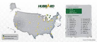 Battle Creek Michigan Map by Contact Us Http Www Hubbardsupply Com