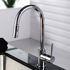 wonderful silver square modern steel grohe kitchen faucets stained