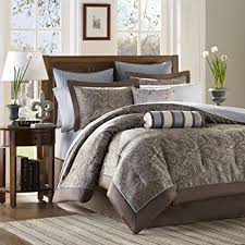 Blue And Brown Bed Sets Park 12 Complete Bed Set Blue