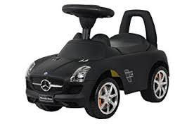 black mercedes amazon com best ride on cars mercedes push car matte black