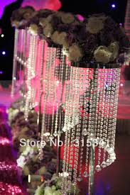 10pcs lots acrylic crystal wedding road lead 120cm tall 22cm