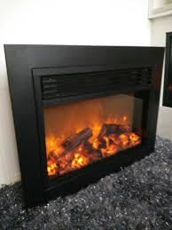online shop q 02 large flat panel cast iron electric fireplace