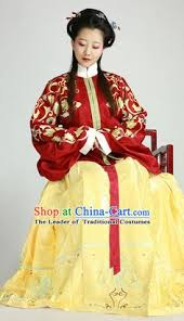 ancient chinese tang dynasty clothes set and hair accessories for