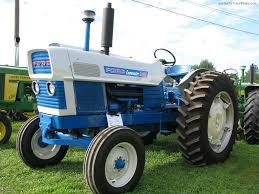 the blue ford 6000 became the commander 6000 with more power and