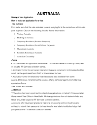 sample cover letter for permanent residence application singapore