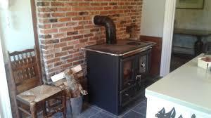 wood l rosa l wood cook stove by la nordica