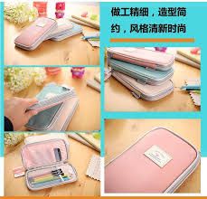 spacemaker pencil box candy color fashion boys pencil bags school funky supplies