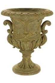 decorative urns ornate urn cast resin urn planter