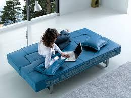 light blue sofa bed blue leather sofa bed sleeper