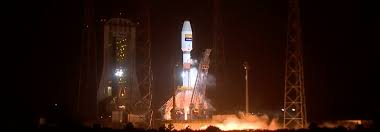 arianespace successfully launches hispasat 36w 1 pushes soyuz to