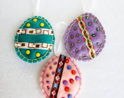 easter egg ornaments easter egg ornament etsy