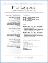 free template resume resume format a resume professional resume