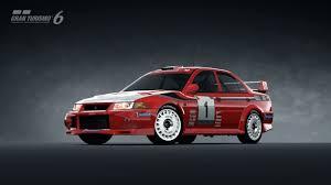 mitsubishi race car mitsubishi lancer evolution vi rally car u002799 gran turismo 6