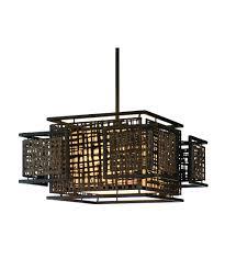 Japanese Lighting Corbett Lighting 105 44 Shoji 24 Inch Wide 3 Light Large Pendant