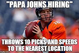 Go Broncos Meme - manning broncos meme imgflip
